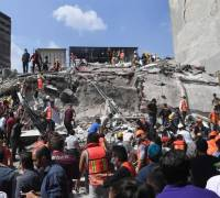Mexico earthquake: over 200 dead, buildings toppled