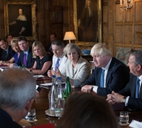 May warns Cabinet that UK must not stay in the EU 'through the back door'