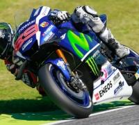 Lorenzo wins last-lap thriller as Rossi retires