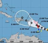 Hurricane Maria: storm strengthens as it heads towards Caribbean