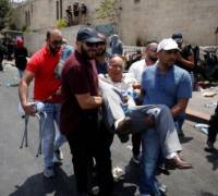 Clashes continue to erupt at Palestine holy site