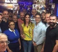 Freemasons suspended by PN get caught smiling with Delia