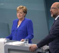 Germany elections: Merkel leads Schulz in polls