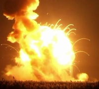 [WATCH] Unmanned rocket explodes after lift-off