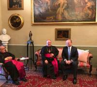 Church-State 'working relationship' needs to be made more public, Archbishop says