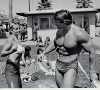 Schwarzenegger muscles into TV with Venice Beach drama 'Pump'