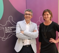 'Our aim is to amaze' | Bettina Hutschek and Raphael Vella