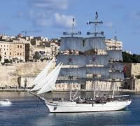 Royal Navy of Oman's flagship in Malta for three-day visit