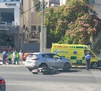Updated | Motorcyclist suffers minor injuries in Valley Road accident