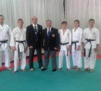 Six Black Belts for Malta Karate Federation