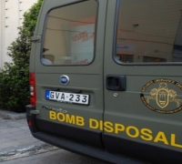 False alarm after magistrate's car is inspected by bomb disposal unit