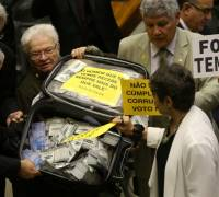Congress rejects corruption charge against Brazilian President Michel Temer