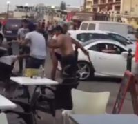 [WATCH] Two arrested following violent Bugibba square brawl