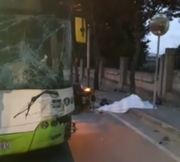 Quad bike driver, 24, killed after crashing into bus