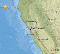 6.5-magnitude earthquake reported off coast of California