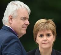 Scottish, Welsh government heads aim to stop 'blatant power grab' after Brexit