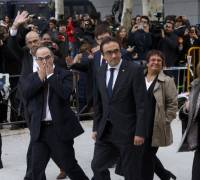 Eight members of deposed Catalan government jailed by Spanish judge