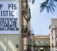 Barcelona anti-tourism activists vandalise bikes and bus