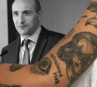 [WATCH] Health ministry rolls out tattoo consultation but does Chris Fearne have one?