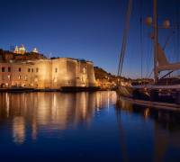 Senglea's Macina lights up Grand Harbour as Cugó Gran hotel nears opening