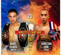 Daniel 'the Jet' set for a title match in Italy