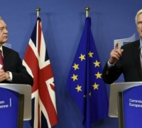 Brexit talks start in Brussels with 20 months to go