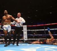 David Haye knocks out Mark De Mori on return to ring
