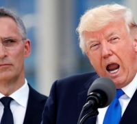 Trump berates NATO for dodging defence dues