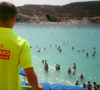 Baby, 19 months, rescued in Comino