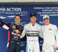 Rosberg on pole as Hamilton hits more trouble