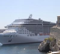 MSC Fantasia to bring 120,000 passengers to Malta in 2015