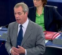 Farage accuses EU Parliament of 'declaring war' on Brexit talks