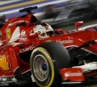 Vettel storms to Singapore pole for Ferrari
