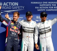 Rosberg beats Hamilton to Spa pole