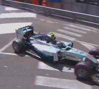 Rosberg takes second successive Monaco pole