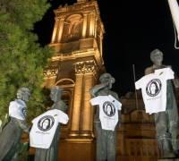 Daphne Caruana Galizia's last words adorn main monuments three months after murder