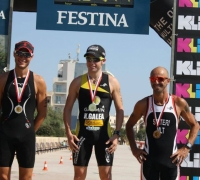 Keith Galea and Hannah Pace dominate first race of the BSJ Sprint Triathlon Series 2015