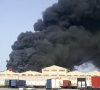 [WATCH] Fire, heavy smoke engulfs factory in Hal Far