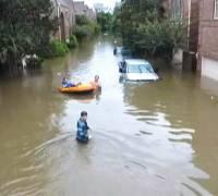 Mass evacuations ordered as tropical storm Harvey devastates Houston