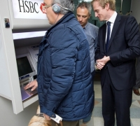 HSBC to roll out ATMs with voice technology