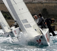 International Yacht Paints Cup - Unpredictable weather pushes crews' limits at MSL