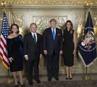 The Muscats meet the Trumps