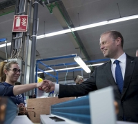 Prime Minister: Company's expansion to Malta 'a vote of confidence'