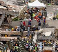 Mexico quake: authorities doubt any children remain trapped in collapsed school
