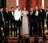 La La Land sweeps seven awards at Golden Globes