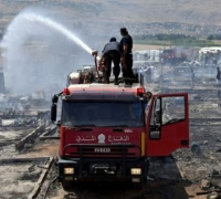 Fire kills child at Syrian refugee camp in Lebanon