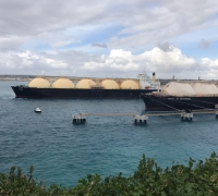 Refuelling of LNG floating storage unit complete