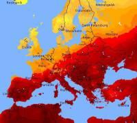 Heatwave 'Lucifer' scorches Europe