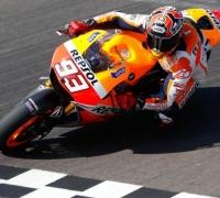 Third successive triumph for Marquez