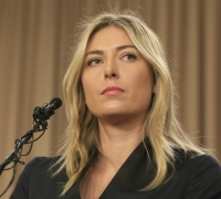 Sharapova reveals she failed drug test at Australian Open